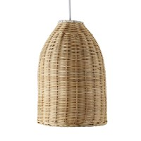 Modern Wicker Basket Ceiling Pendant Light Shade Lounge ...