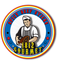 1812 gourmet SPICY beef sticks