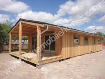 Manufactured Mobile Log Cabin Homes