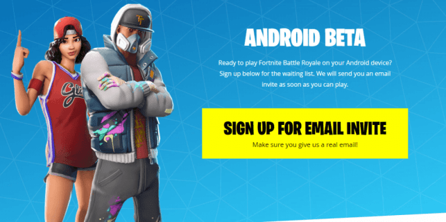 Fortnite Android Download, Fortnite Android Beta