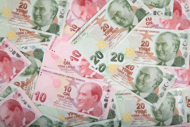 Turkish Lira vs USD
