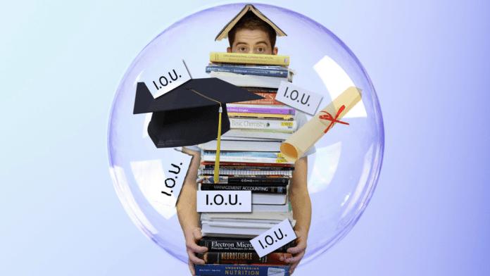 College Debt household debt collapse –