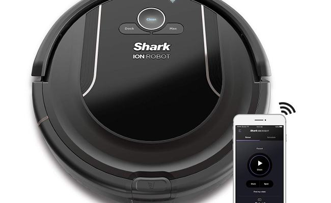 Shark Ion Wifi Connected Robot Vacuum Just 199 99