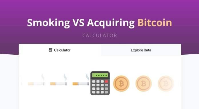Quit Smoking vs acquire 1 bitcoin cryptocurrency exchange