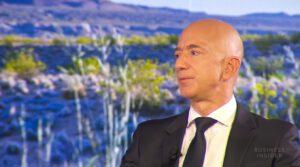 Jeff Bezos Moon Space Tourism NYSE:SPCE NASDAQ:AMZN MacKenzie Bezos amazon Jeff Bezos