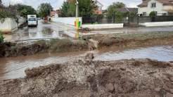 Inundații la Valu lui Traian. FOTO ISU Dobrogea