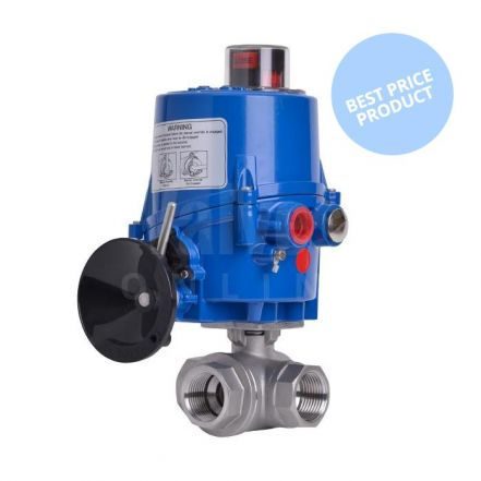3 way electric microsoft company network diagram actuated valves online economy stainless steel ball valve