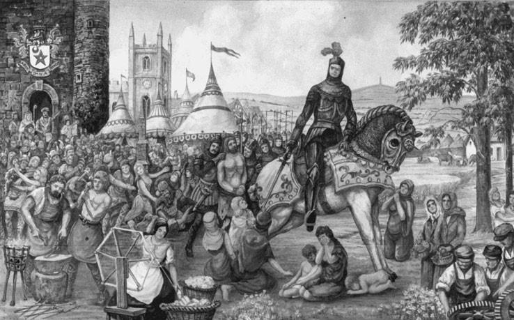 Sir Ralph De Assheton, The Black Knight Of Ashton under Lyne