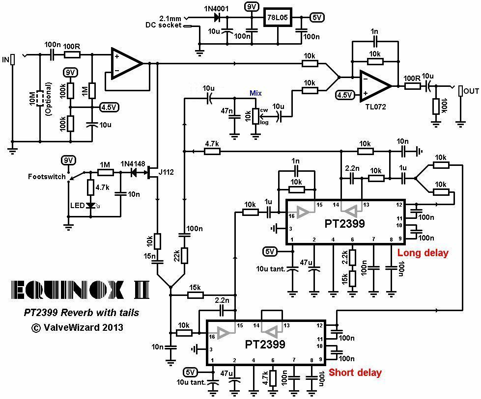 Echo Reverb Schematic Power Schematic ~ Elsavadorla