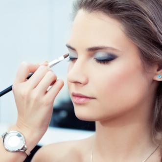 Een toplook met professionele make-up