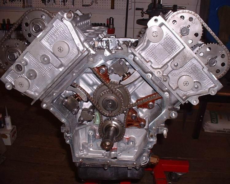 honda pilot engine diagram 2003 chevy silverado bose radio wiring distribucion de un cadilac v8 4.6