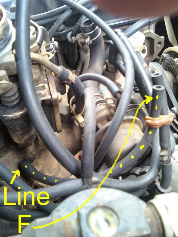 nissan 2 5 engine diagram on off switch wiring como se conectan las mangueras del carburador de motor z24 1985