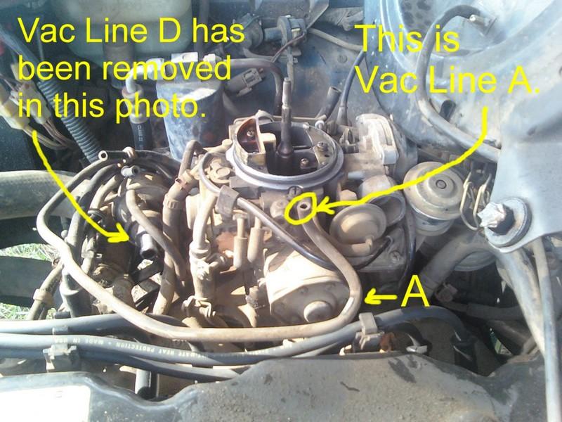 Ford 3 0 V6 Engine Firing Diagram Como Se Conectan Las Mangueras Del Carburador De Motor Z24