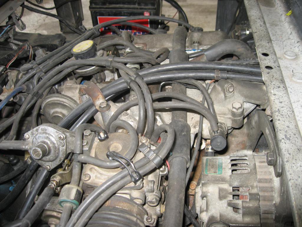 Ford L Engine Diagram Mangueras De Vacio Y Aire Suzuki Super Carry