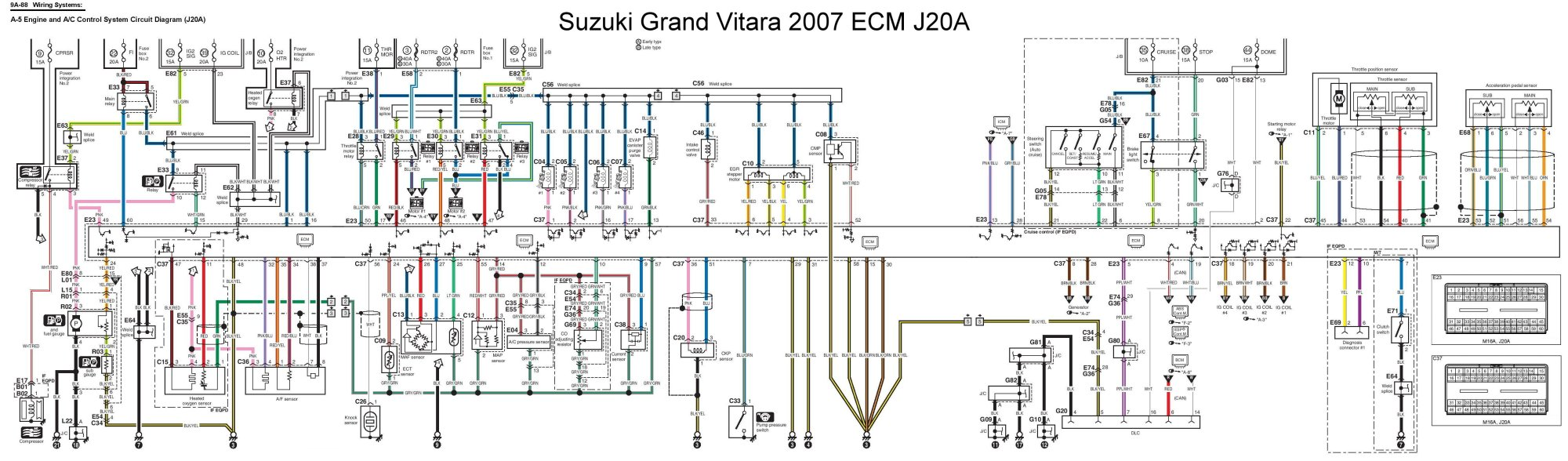 hight resolution of 1999 suzuki grand vitara engine diagram wiring diagram paper wiring diagram suzuki grand vitara 2008 suzuki