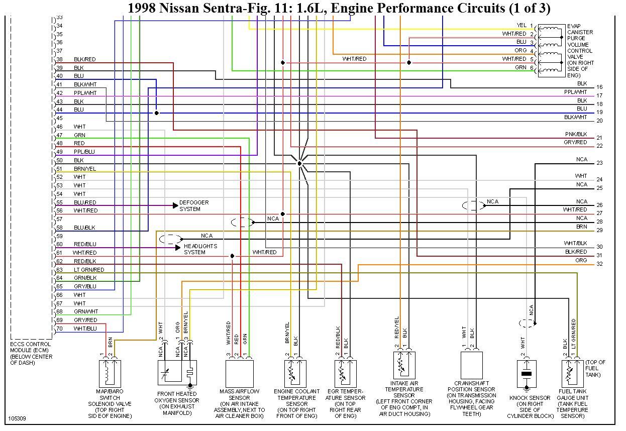 honda obd2 wiring diagram harbor breeze ceiling fan 3 speed switch ecu pinout del nissan ga16de, ga16dne, diagramas eléctricos