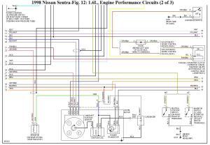 ECU Pinout del Nissan GA16DE, GA16DNE, Diagramas Eléctricos