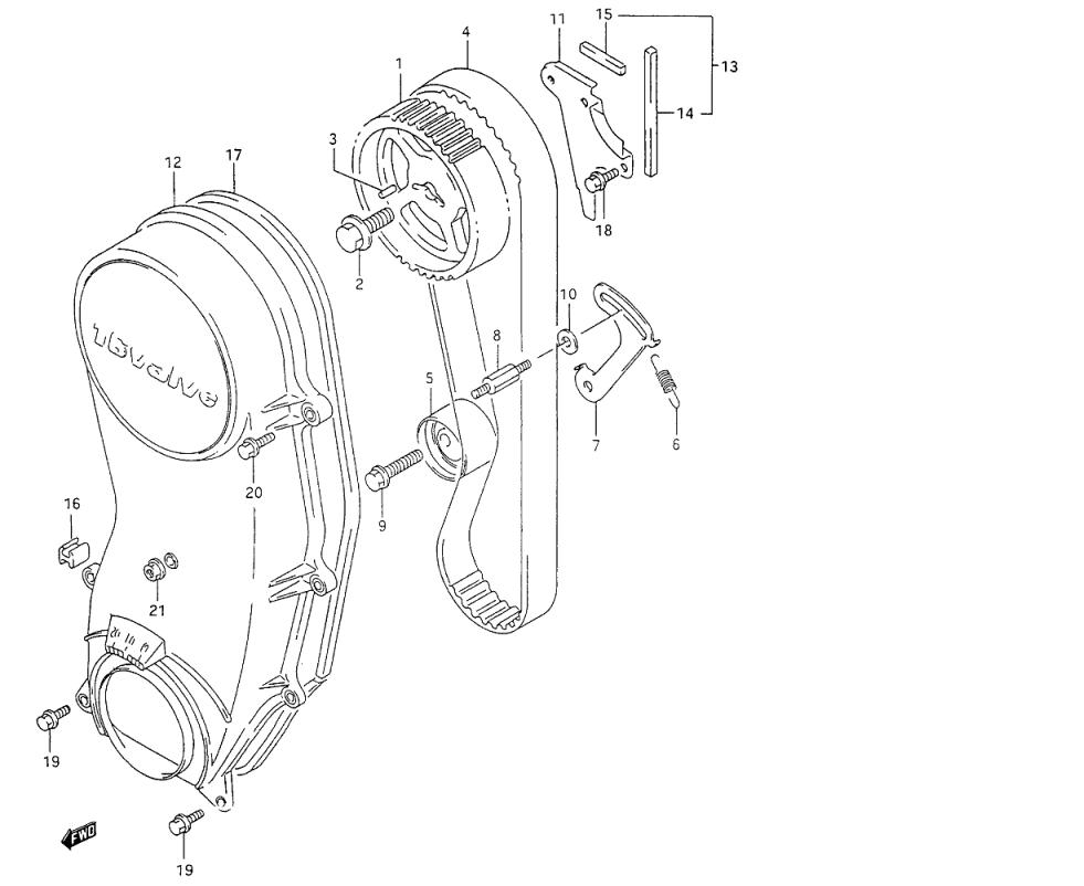 Manual Motor G16b Camshaft