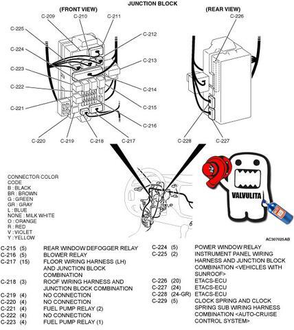 wiring diagram relay tv aerial cable donde se encuentra el flasher de las intermitentes en mitzubishi lancer 2002