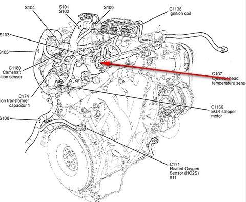 2006 ford focus engine diagram 2014 bmw 328i ubicacion del sensor de temperatura | valvulita.com info gratis para arreglar tu auto