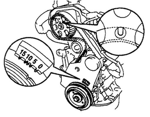 Toyota 3 5 Diagrama Del Motor
