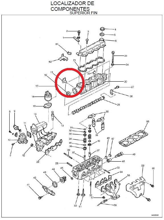 donde esta ubicado el sensor de posicion de ejes de levas