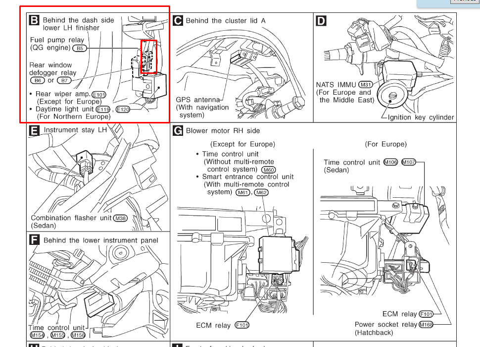 Nissan Altima Wiring Diagram. Nissan. Wiring Diagram Images