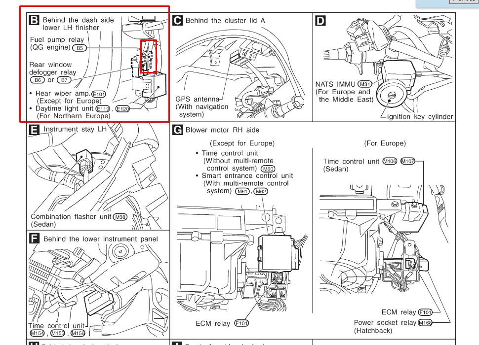 nissan frontier wiring diagram polaris sportsman 500 donde esta el relay de una bomba gasolina un