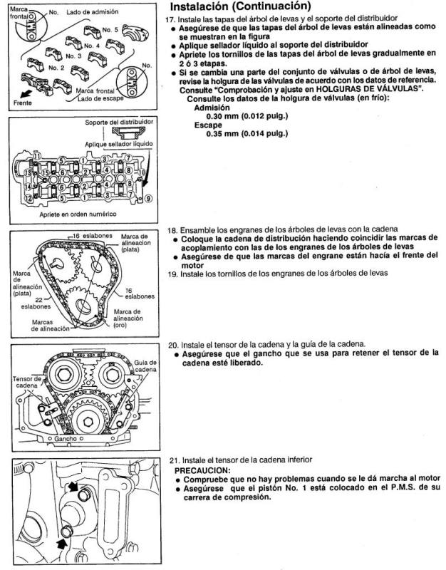 Nissan 2 4l Timing Chain Marks. Nissan. Auto Wiring Diagram