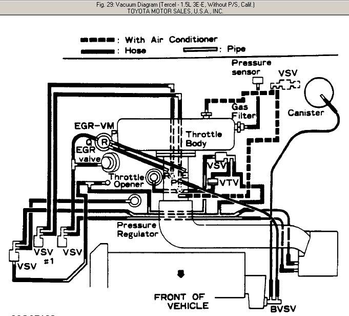 95 toyota tercel engine diagram