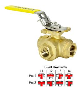 2 way vs 3 valve ge load center wiring diagram lead free brass ball t full port 1 npt