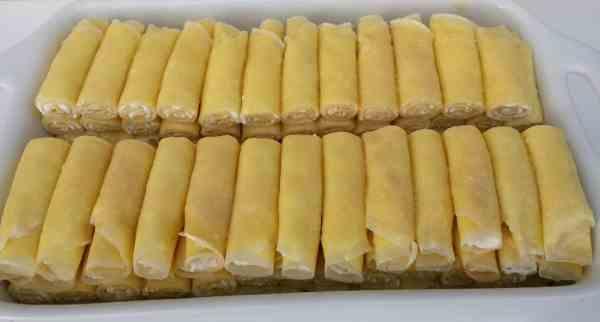 Crepes with Cheese (Nalisniki – Налисники)