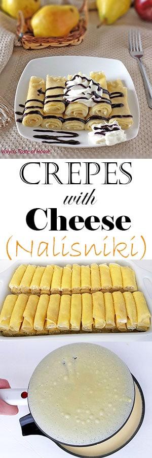 Crepes with Cheese (Nalisniki - Налисники)