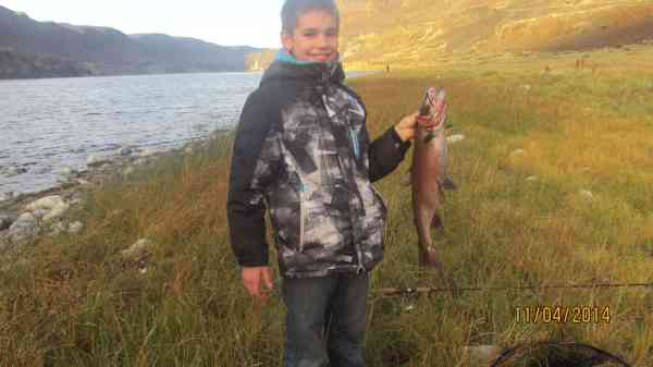 Sauteed Lahontan Cutthroat Trout