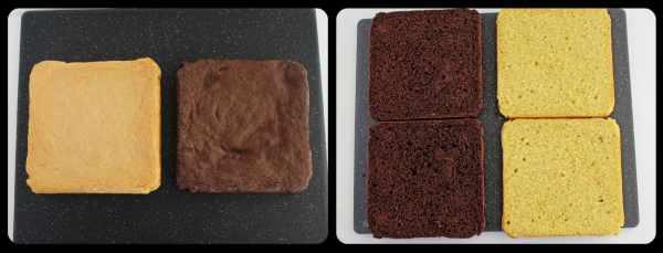 "Cake ""Day and Night"""