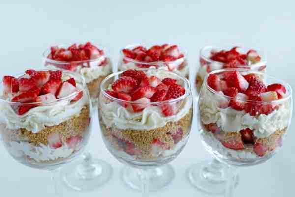 No Bake Farmers Cheese Cheesecake Desserts