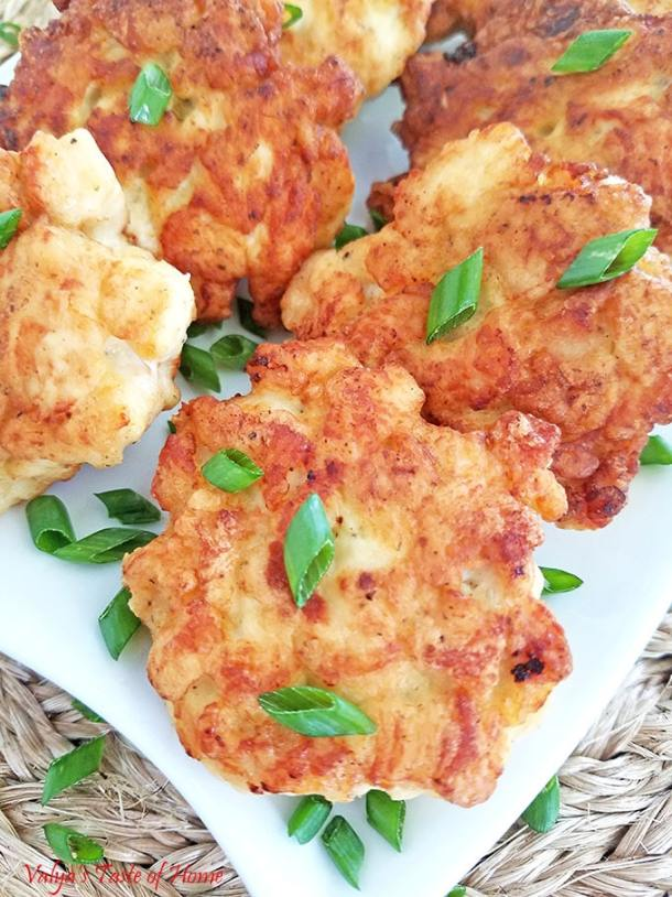 Tasty Chicken Fritters