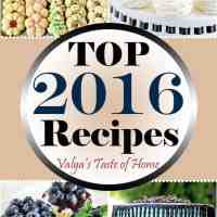Top 2016 Recipes