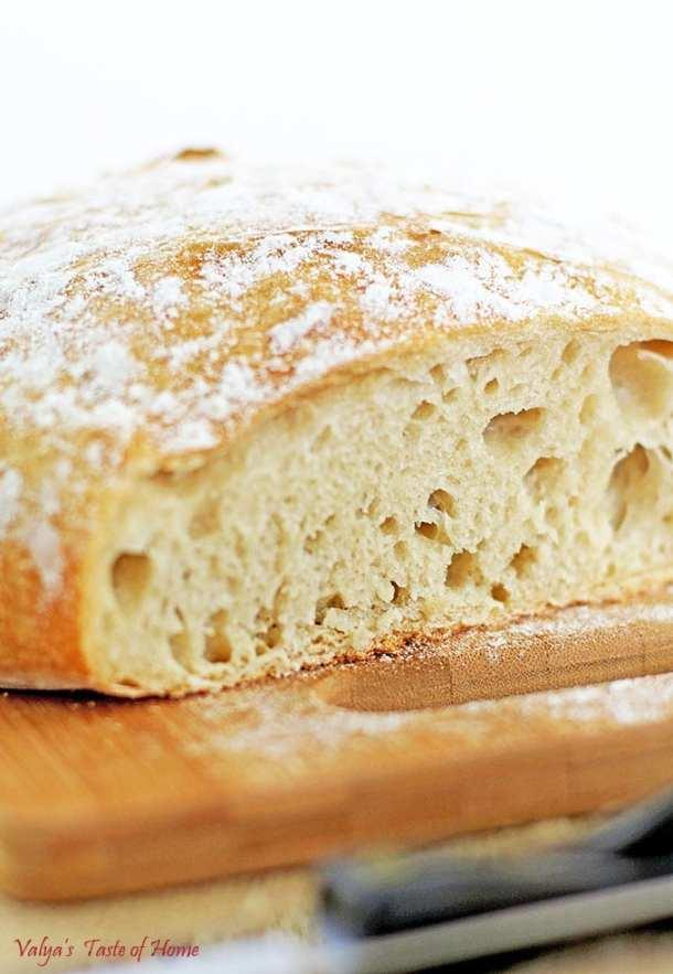 Dutch Oven White Crusty Bread Recipe
