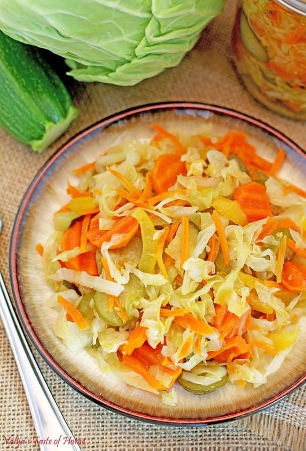 Tasty Canned Vegetable Salad Recipe