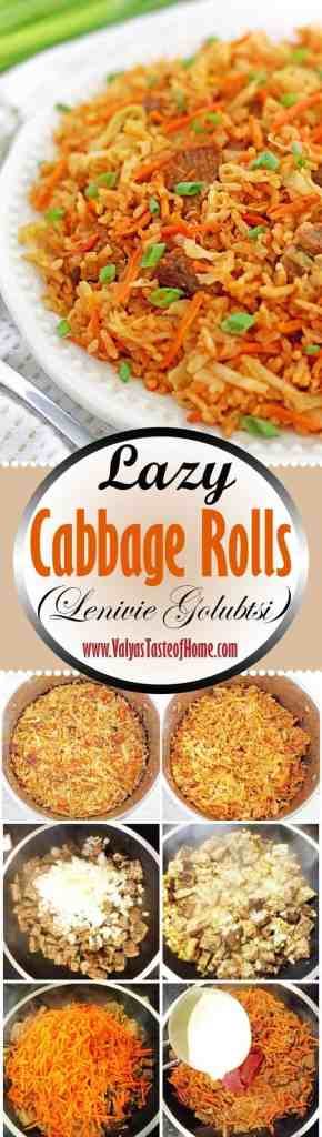 Lazy Cabbage Rolls Recipe