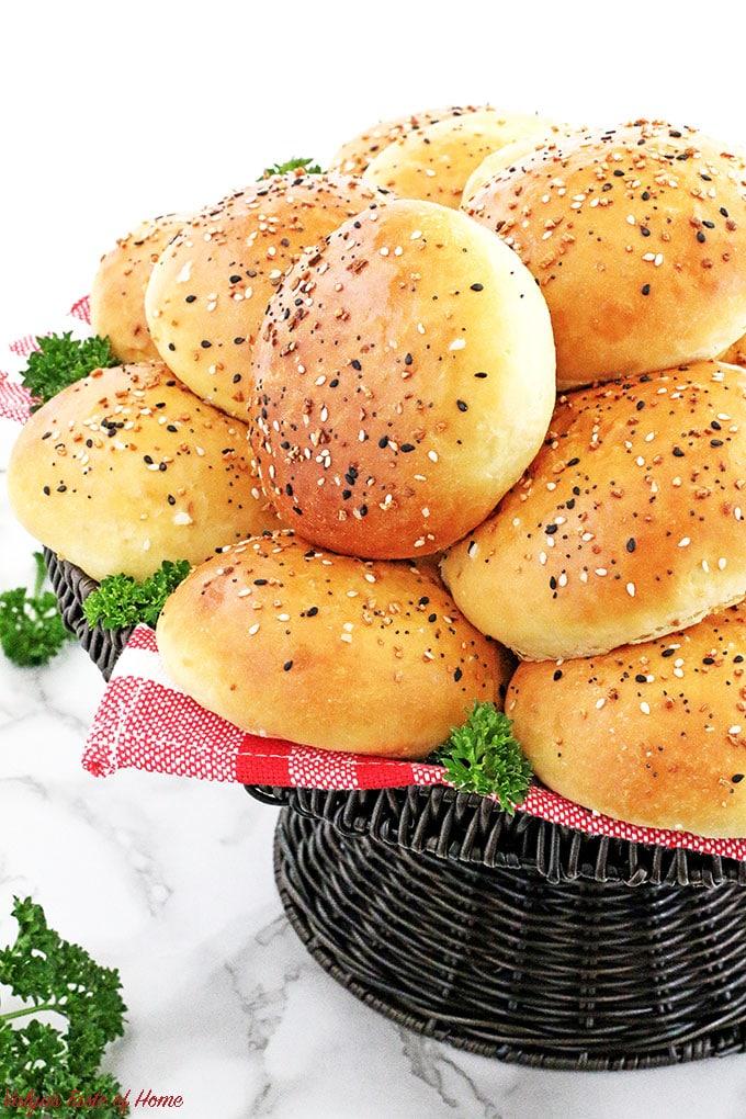 Pillow Soft Burger Buns Recipe