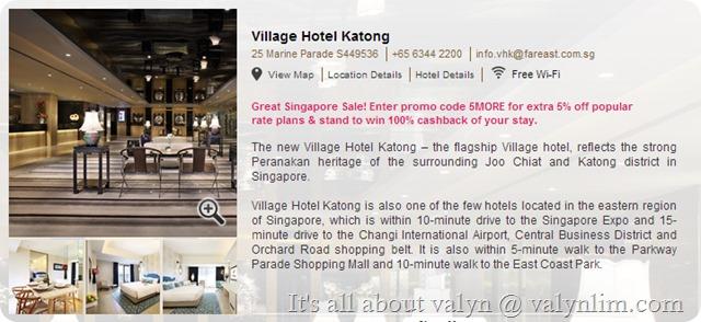 新加坡悦乐加东酒店(Village Hotel Katong) (63)