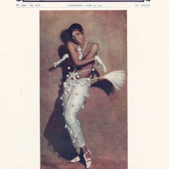 Chair Dance Ritual Song Chevron Dining Covers History Of Black 20th Century American Victoria Front Cover The Sketch Showing Josephine Baker 1931