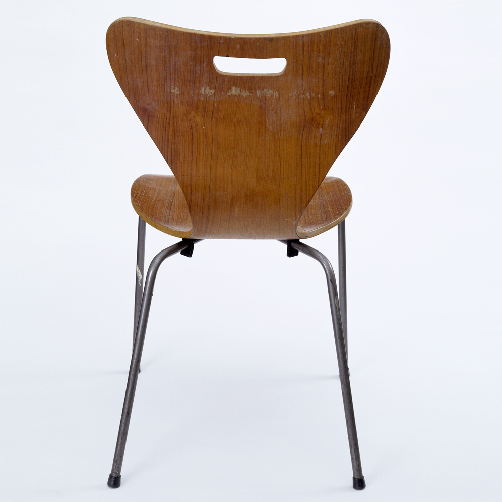 office chair you sit backwards wing chairs ikea christine keeler photograph a modern icon victoria and albert museum copy of an arne jacobsen possibly by heal s london 1962 no w 10 2013 c