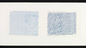 Letters from my Mother, Vera Molnar, Screenprint after a plotter drawing, 1988. Museum no. E.1079-2008
