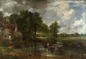 The Hay Wain, John Constable, 1821, oil on canvas. © The National Gallery, London 2014