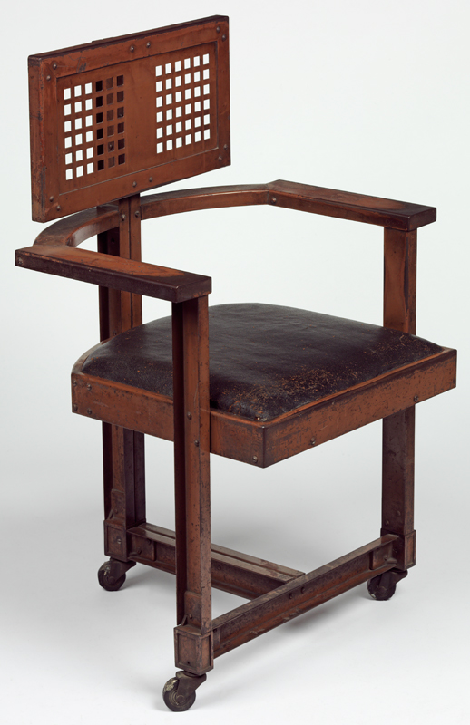 frank lloyd wright chairs ergonomic chair article victoria and albert museum office designed by 1904 no w 43 1981