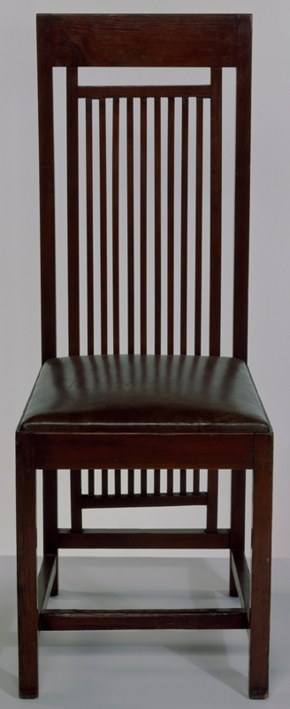 frank lloyd wright chairs ultimate game chair victoria and albert museum from the isobel roberts house designed by 1908 no w 11 1982
