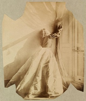 Clementina Maude, photography by Lady Clementina Hawarden, about 1862-3. Museum no. PH.457:344-1968